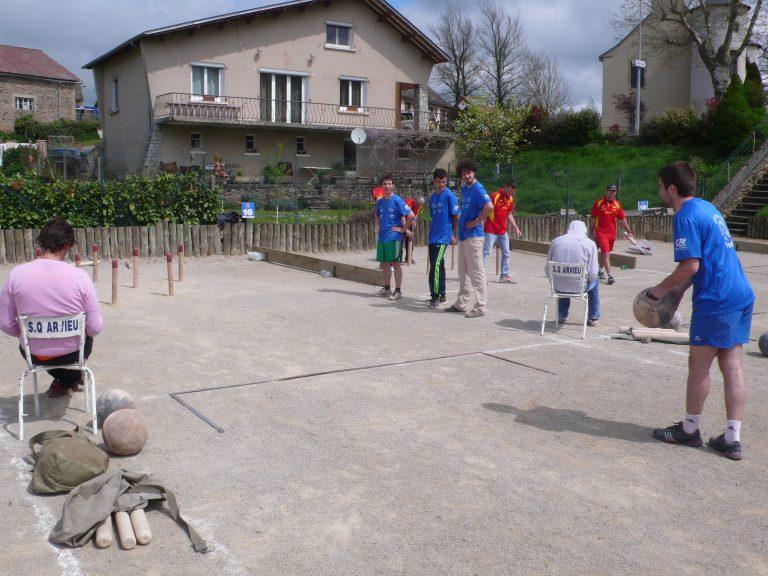 Sport quilles Arvieunois