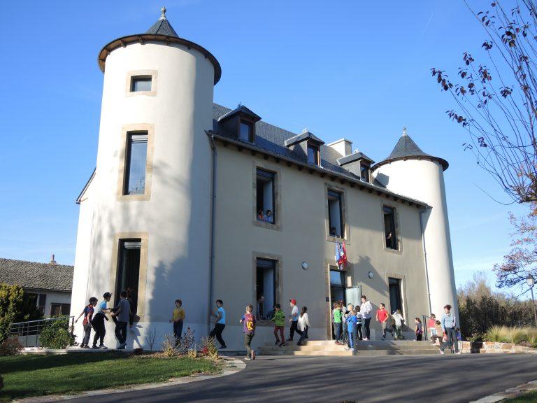 La Mairie d'Arvieu