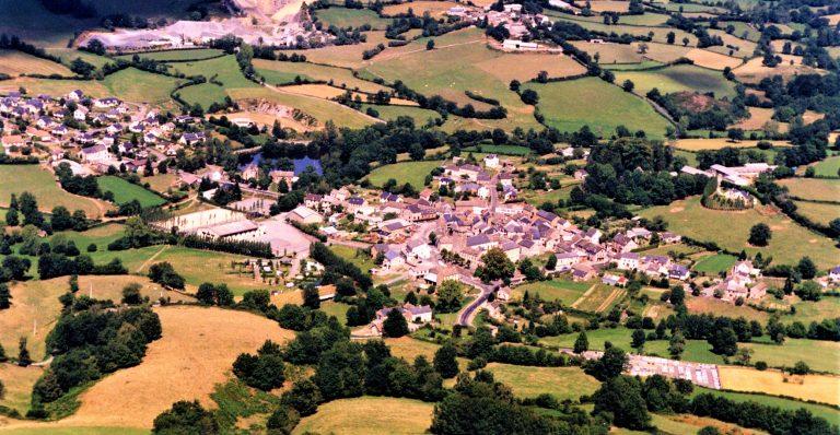Le village vue du ciel