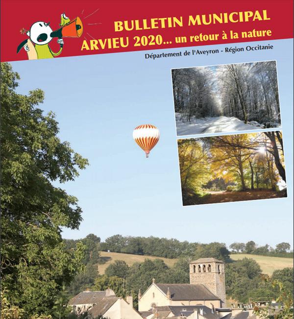Couverture bulletin municipal 2020